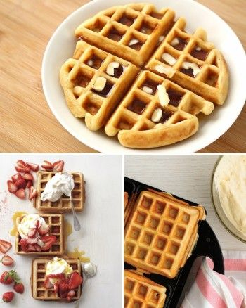 recipe: cornmeal waffles egg whites [8]