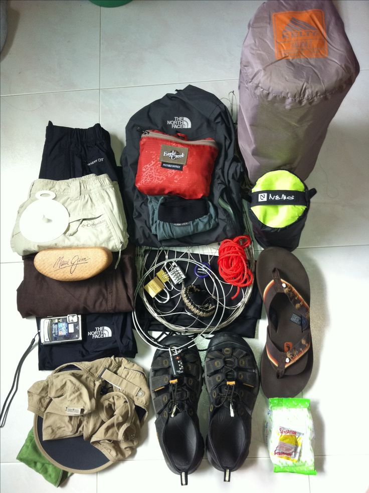 Hiking And Camping Gear Equipment
