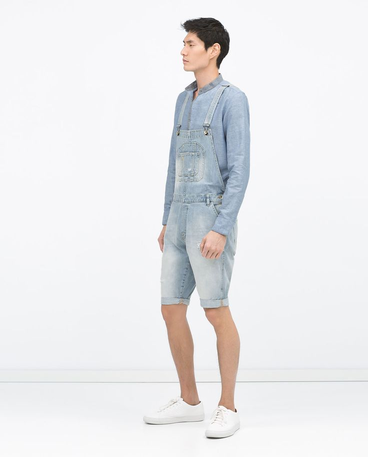 Be prepared a long day of work with men's overalls. Rather than run the risk of ruining your favorite pair of jeans, slip on a pair of men's overalls before you head to work.
