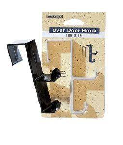 InterDesign Over-the-Door Double Hook White 16101 Pack Of 6 by InterDesign. $18.86