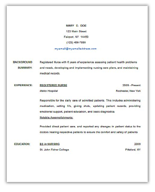 The  Best Free Online Resume Builder Ideas On