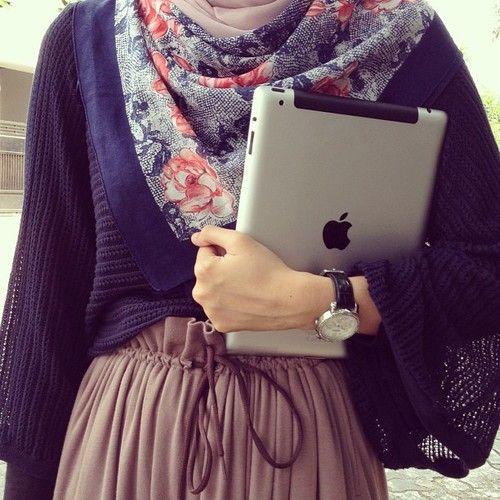 Inspiration hijab fashion