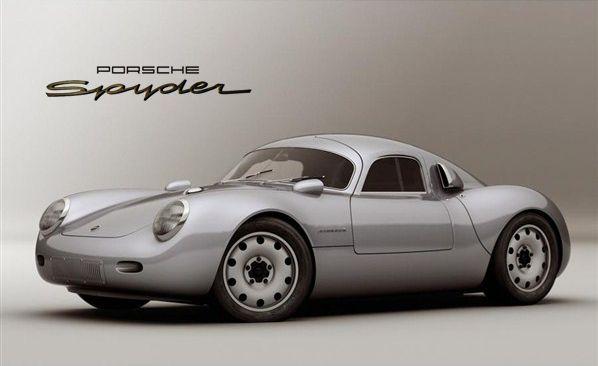 Porsche 550 Spyder Concept Porsche Pinterest Porsche