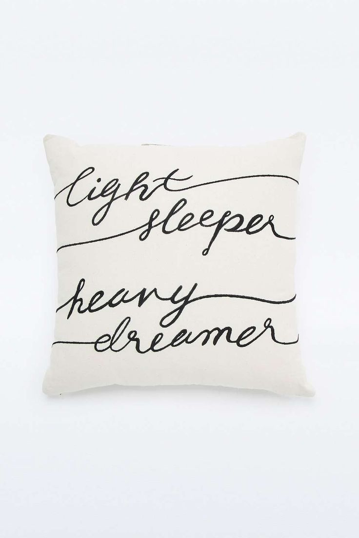 """Kissen """"Light Sleeper"""" - Urban Outfitters"""
