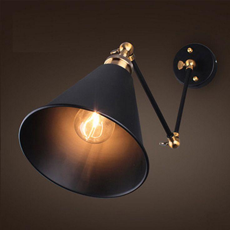 Historická nástenná lampa Cabinet v nádhernom retro štýle (5)