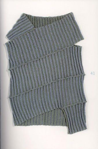 construction idea __ ribbed vest