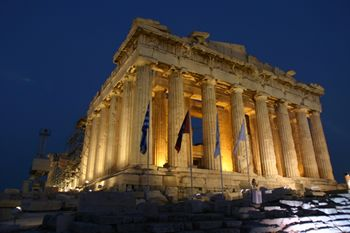 Temple of the Virgin (Parthenon), Athens, Greece