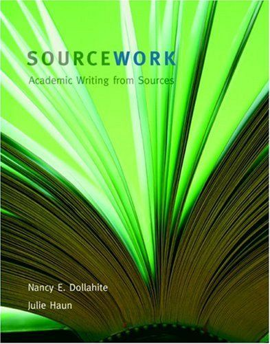 sourcework academic writing from sources