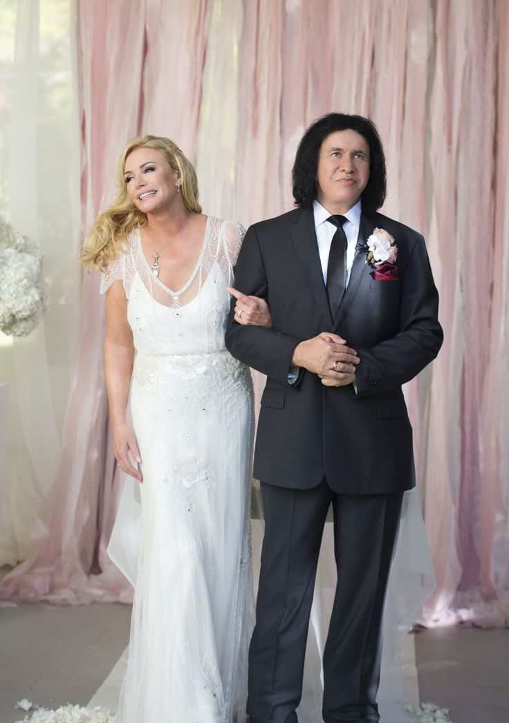 Gene Simmons and Shannon Tweed Simmons Vow Renewal on Style Me Pretty   See it here  -  http://www.StyleMePretty.com/2014/01/03/gene-simmons-vow-renewal/ Trish Barker Photography