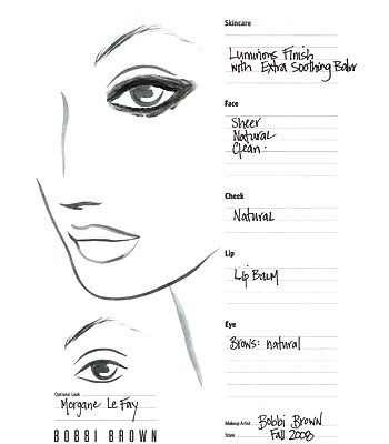 Best Blank Face Chart Images On   Make Up Drawings