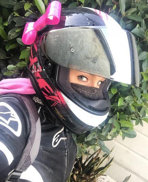 419 Best Bike Helmet Girl Images On Pinterest Biker Girl