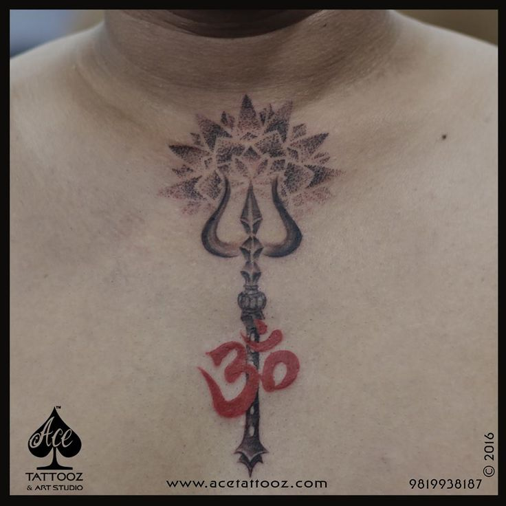 Simple elegant & classy is what the client wanted.. #LordShiva being the prime source of energy he wanted The elements of Om & Trishul in it. Our artist #archanaNakhuaBhanushali incorporated this design with a Mandala in it & the placement makes the whole tattoo look super amazing..☺️ www.acetattooz.com #AceTattooz #TattooStudioMumbai #TattooStudioColaba #TattooartistMumbai #TattooArtistIndia #BestTattooIndai #TrishulTattoo #OmTattoo #MandalaTattoo #Om #Trishul #Mandala #Tattooformen #Ch