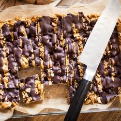 Good Morning Sunshine Bars: peanut butter, caramel, chocolate, and ...