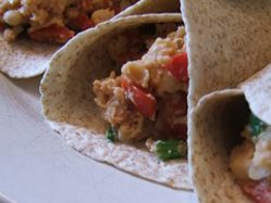 Mini breakfast burritos
