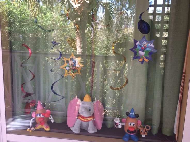 My disney resort window display at carribean beach resort ...