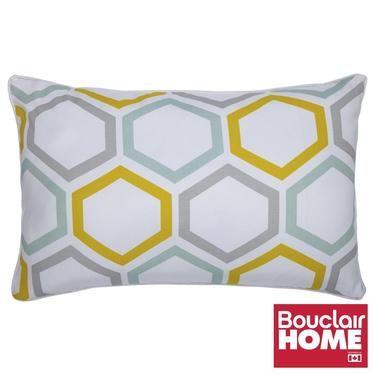 Bouclair Limoncello Geo Long Cushion Multicoloured