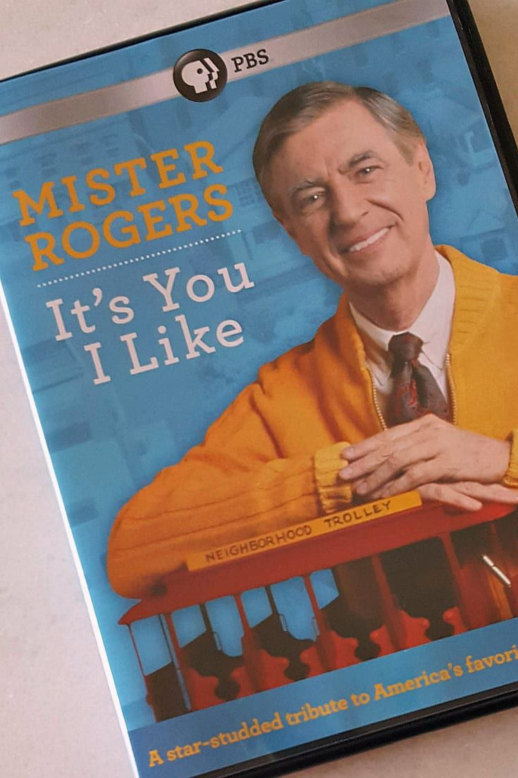 Mister Rogers Dvd It S You I Like Mr Rogers Rogers Dvd