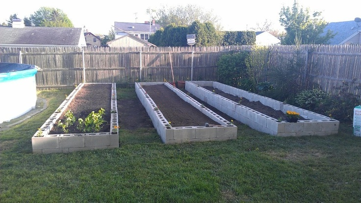 Raised Garden Beds With Cinder Blocks Do It Yourself