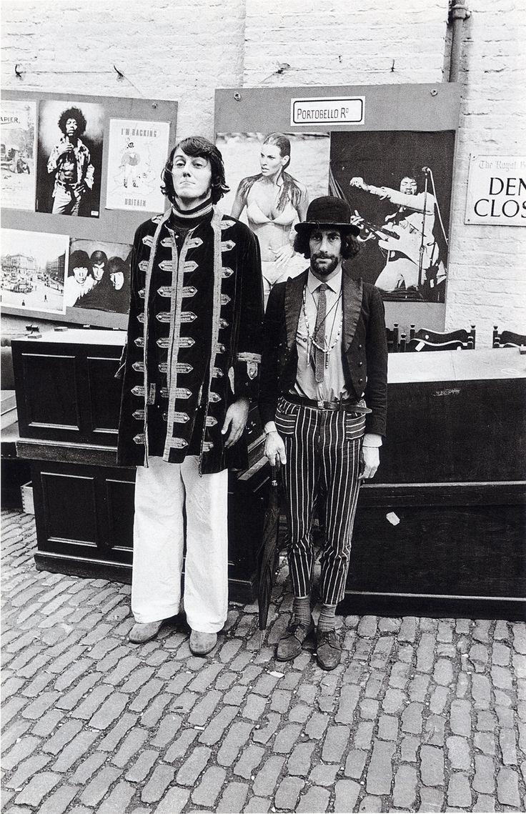 Portobello Road 1967 by Frank Habicht.