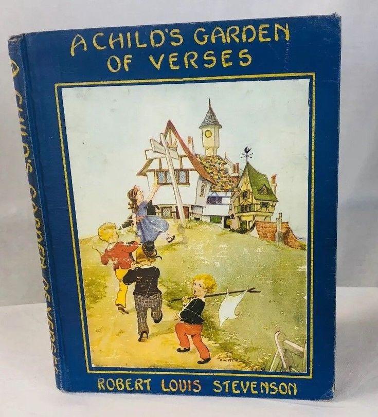 A Childs Garden of Verses Robert Louis Stevenson Book Platt & Munk Eul Alie HC    eBay 1.30.18