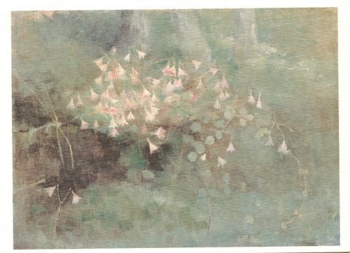 """Finnish painter: Helene Schjerfbeck """"Vanamonita"""" 1886"""