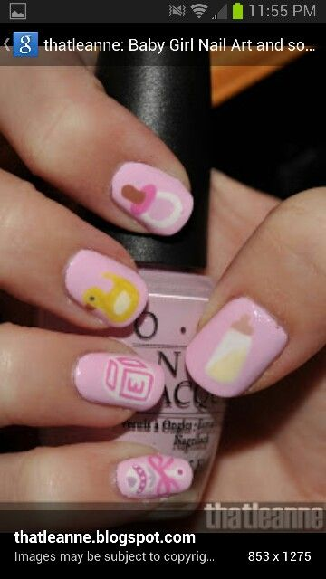Thatleanne Baby Girl Nail Art And Some New Scented: 1000+ Images About NAIL ART BABY On Pinterest