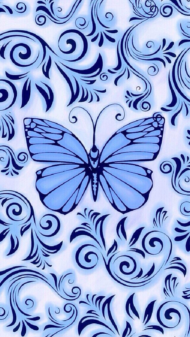 Cocoppa blue butterfly