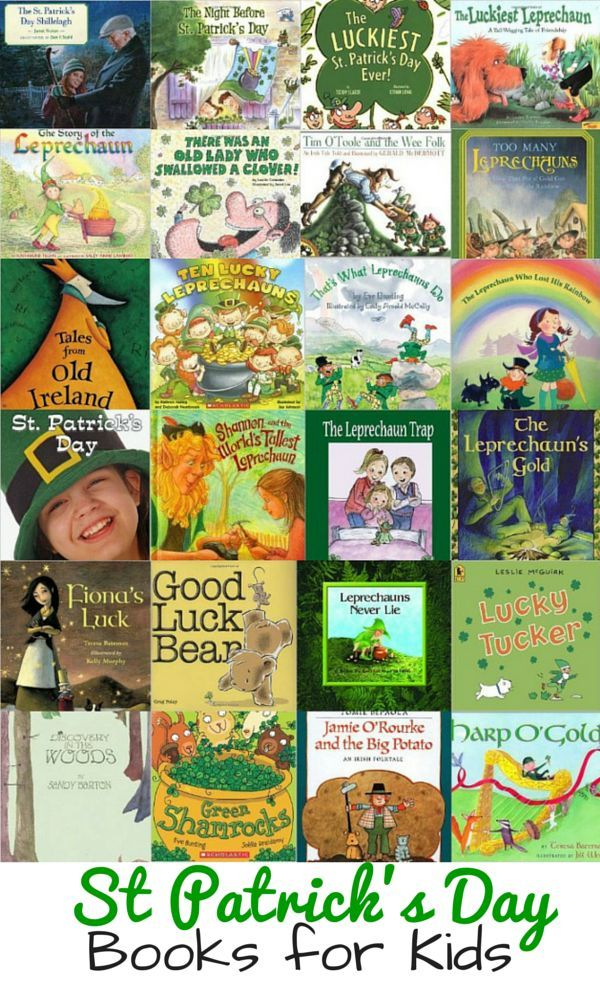 Need St Patrick's Day books for your preschool and kindergarten children? Take a look at this list of our 25 favorites!