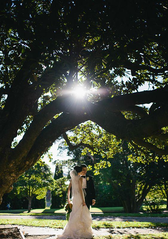 An Elegant Backyard Wedding by Mark & Kara Photography