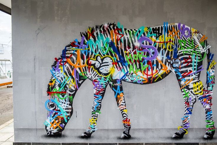 Street Art by Martin Whatson by Ole Morten Eyra