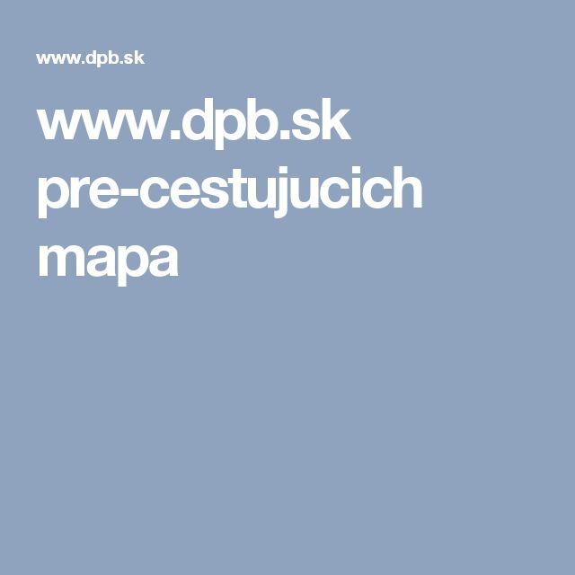 www.dpb.sk pre-cestujucich mapa