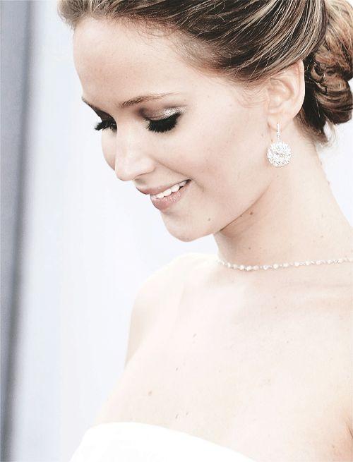 Jennifer Lawrence; the definition of stunning