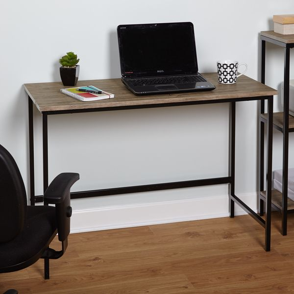Simple Living Piazza Wood and Metal Desk - Overstock™ Shopping - Great Deals on Simple Living Desks