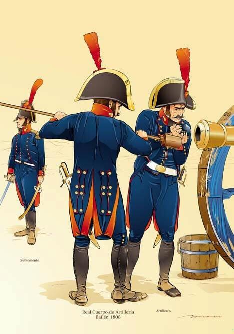 Regno di Spagna - Artileria Española / Spanish Artillery
