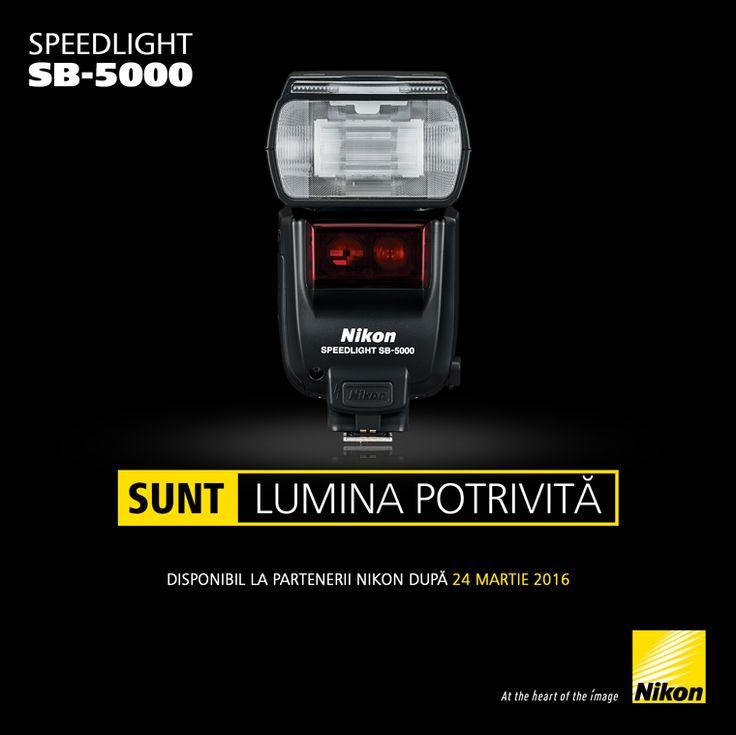 Incepand din 23 martie 2016, blitul Nikon SPEEDLIGHT SB-5000 va fi disponibil in Romania la partenerii oficiali Nikon.