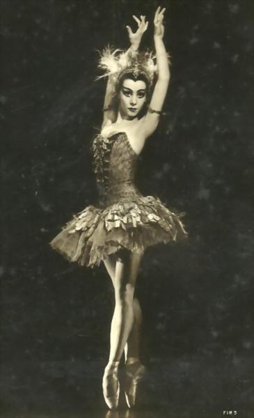 Nadia Nerina, ballerina, vintage