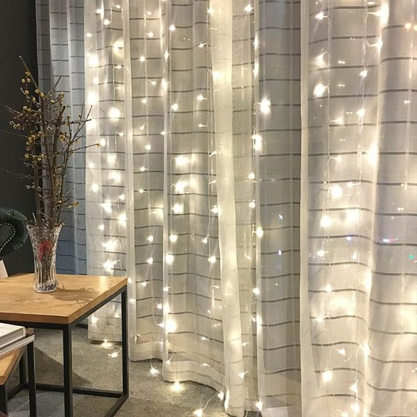 led small lights flashing lights string lights filled with stars dream bedroom bedroom layout waterfall romantic - Do It Yourself Kinder Kopfteil Ideen