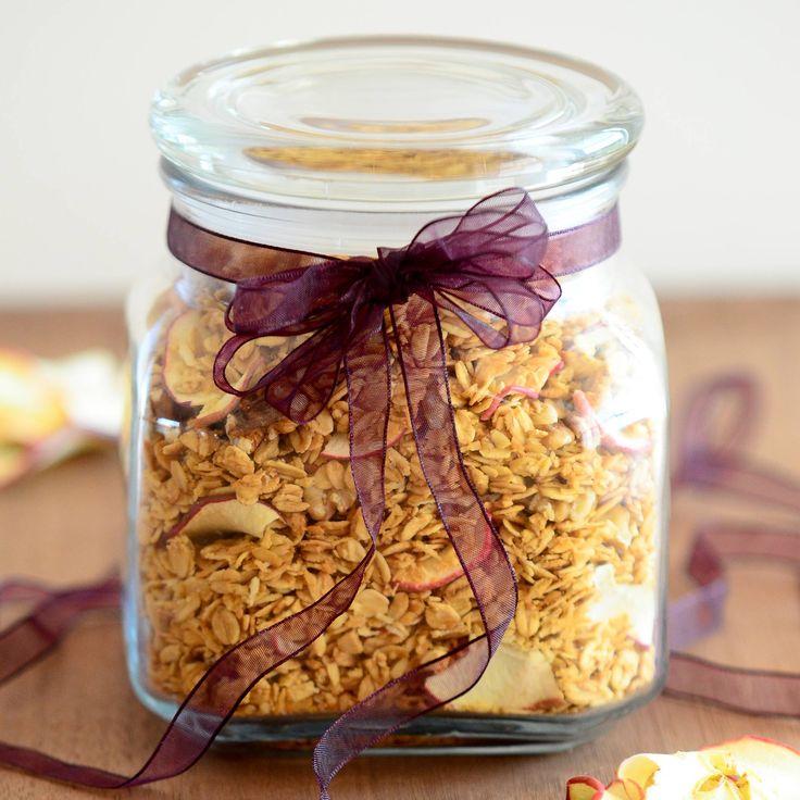 Apple Walnut Granola Recipe - Low Fat, Low Sugar   Jennifer's Kitchen