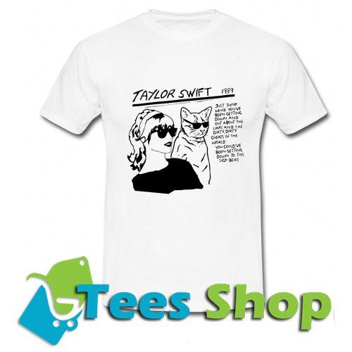 Sonic Youth Goo Parody Taylor Swift T-Shirt