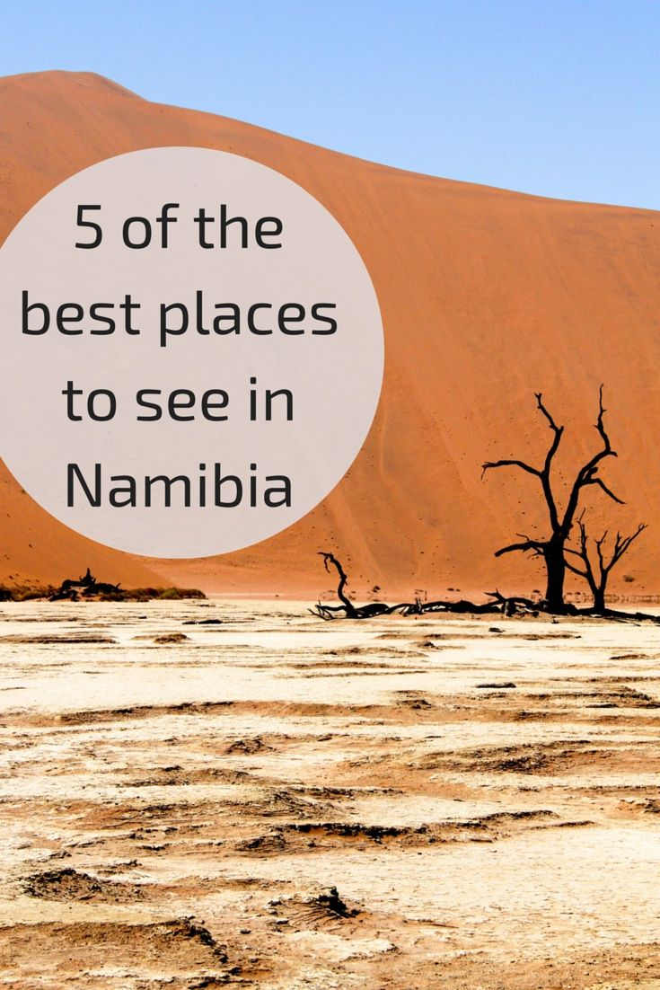 Travel Guide Namibia - 5 best places to see
