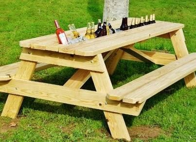 Awesome Idea For Picnic Table Modification Picnic Tables