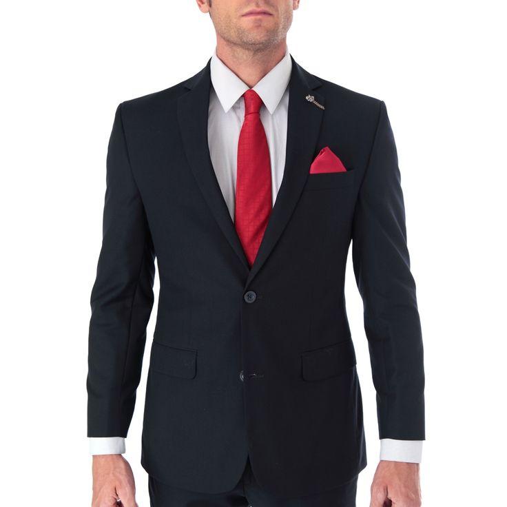 Una prenda de vestir sofisticada que te hará lucir con estilo. Traje de vestir para caballero marca Aldo Conti Lexus.