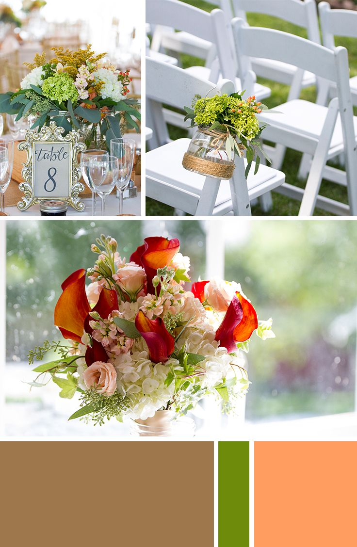 New Jersey Rustic Outdoor Summer Wedding Flower Inspiration | Inn at Millrace Pond, Blairstown NJ | Brielle Kaschak Photography