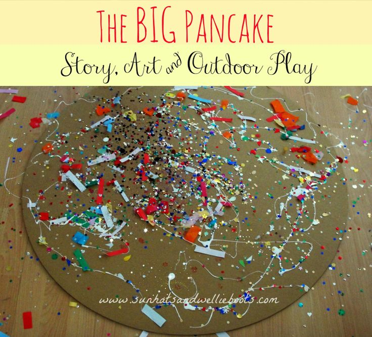 Sun Hats & Wellie Boots: The Big Pancake - Story, Craft & Outdoor Play