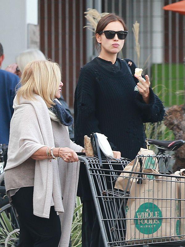 Irina Shayk: Pregnant Model Indulges In Ice Cream Cravings While Sporting OversizedSweater