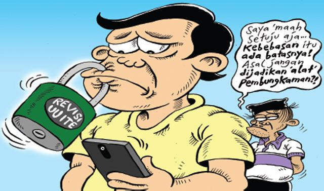 Mice Cartoon: Revisi UU ITE