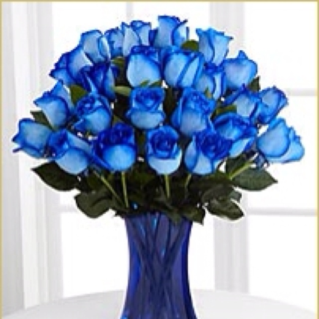 Meaning of a single blue rose for Do black roses really exist