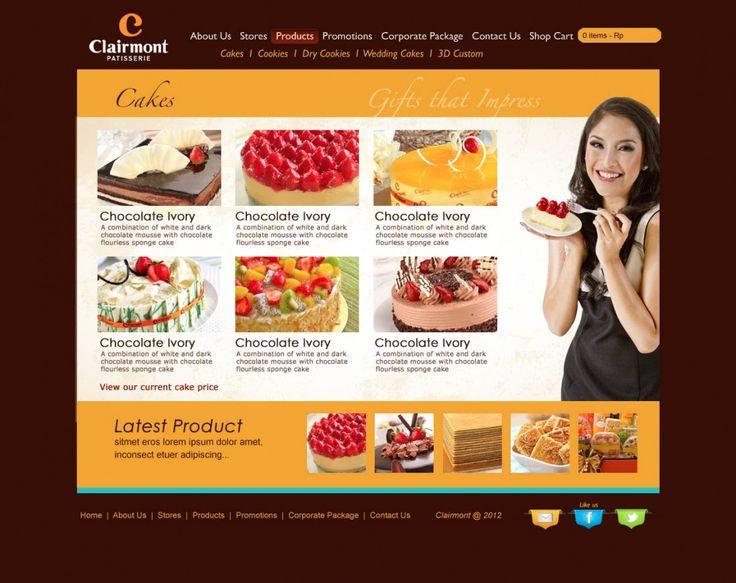 Clairmont – Rebranding Part 2 (Website)