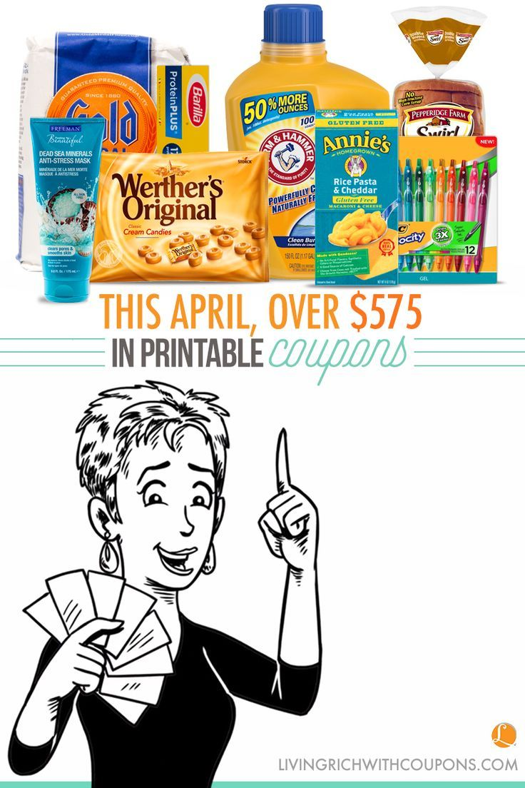 Printable Coupons for April | How to Save on Groceries | Grocery Budgets