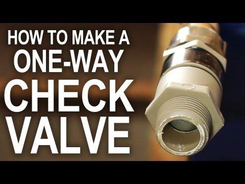 Cheap check valve